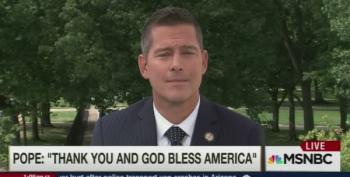 Rep. Sean Duffy Didn't Listen To A Word Pope Francis Said