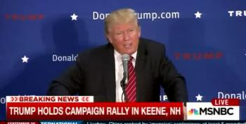 Trump Reassures Voters He'll Send All Syrian Refugees Back