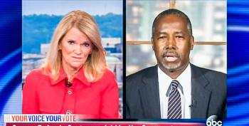 Ben Carson Is Okay With Kanye West As President But He Can't 'Take That Chance' With A Muslim