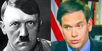 Marco Rubio Holds Fundraiser At Hitler Art Collector's Home -- On Yom Kippur