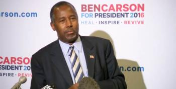 Ben Carson Backs Down Against Donald Trump - Apologizes