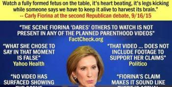 Open Thread - Fiorina Is A Liar