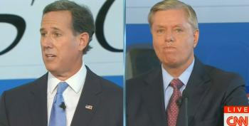 Santorum, Graham Spar Over Raising Minimum Wage