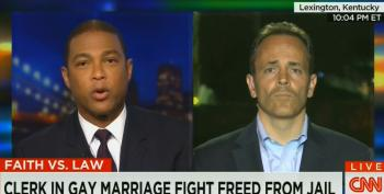 Don Lemon Spars With Matt Bevin Over Support Of Hypocrite Kim Davis