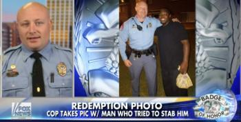 Fox And Friends Pundits Can't Fathom A Cop Forgiving A Black Felon