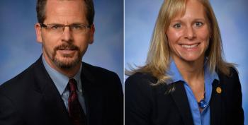 Teabagger Resigns, Girlfriend Expelled In Michigan House Scandal