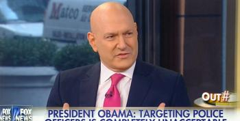 Fox's Ablow Accuses President Obama Of Putting A 'Target On The Backs Of American Police Officers'