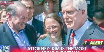 Lawyers Say Kim Davis Will Continue To Block Marriage Licenses After Release From Jail