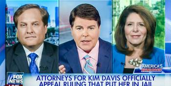 Fox Panel Destroys Kim Davis' Lawyer For Being 'Stunningly Obtuse' And 'Ridiculously Stupid'