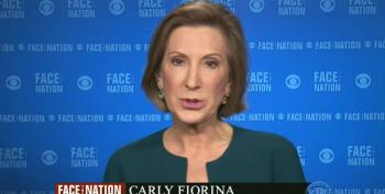 Carly Fiorina: U.S. Has 'Done Its Fair Share' On Syrian Refugees