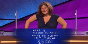 I'll Take 'Turd Ferguson' For $600, Alex