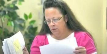 Kim Davis Jailed For Contempt