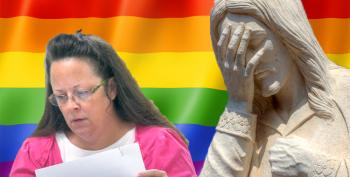Dear Kim Davis: You Are A Horrible Person And You Embarrass God