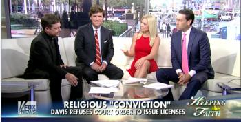 Fox 'News' Religious Expert Thinks Kim Davis Should Be Released