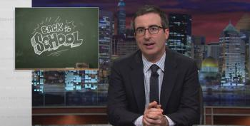 John Oliver's Back To School Crash Course For Students