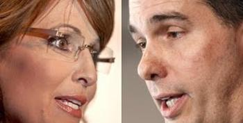 Sorry, Scott Walker. Sarah Palin Still The Best Quitter Of All Time!