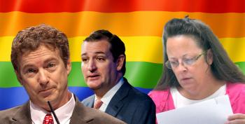 Cruz And Paul Defend Kim Davis, Because They're 'A-Holes'