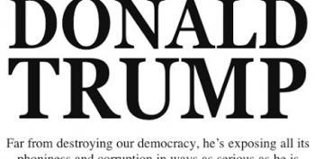 Frank Rich Takes A Few Sips Of The Trump Kool-Aid