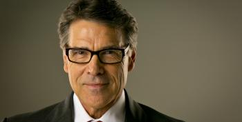 Rick Perry Throws In The Towel