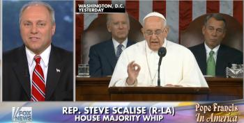 Scalise: 'People On The Left Trying To Co-Opt The Pope's Message'