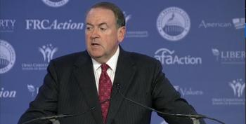 Mike Huckabee Rages Against The GOP Machine