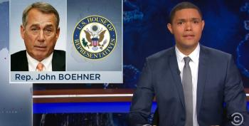 Daily Show's Trevor Noah Mocks Right Wing For Cheering Boehner's Ouster