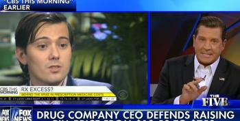 Leave It To Fox News To Defend 'Pharma Bro' Martin Shkreli