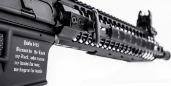Muslim-Hating Christian Ammosexuals Get Their Own Custom Rifle