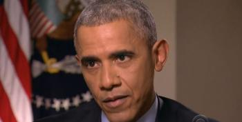 President Obama Smacks Down Steve Kroft's Right-Wing Talking Points