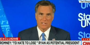 Mitt Romney Wishes He Could Clone Paul Ryan