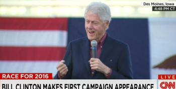 Bill Clinton Bravely Fights For The Rights Of Presidential Spouses