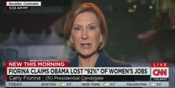 CNN Confronts Carly Fiorina On Her Factless Claims