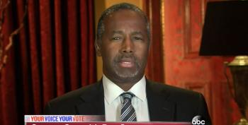 Ben Carson Says Middle East Would Have Turned Bin Laden Over If We Threatened 'Oil Independence'