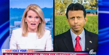 ABC's Martha Raddatz Shoots Down Bobby Jindal's 'No-Fly Zone' Plan: 'ISIS Doesn't Have Aircraft'
