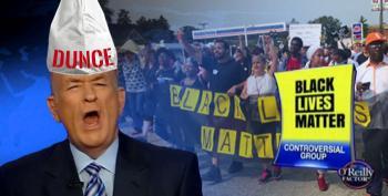 Bill O'Reilly On Black Lives Matter: 'It's Like The Ku Klux Klan, Alright?'
