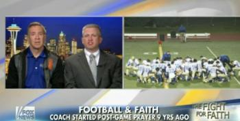 Another Taxpayer-Funded H.S. Football Coach Insists On Public Prayer