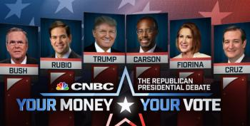 CNBC Announces GOP Debate Lineups