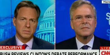 Jeb!: If I'm The Nominee, There Will Be A Stark Contrast From Clinton