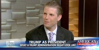 Eric Trump: 'My Dad's Presidential Run Is A Selfless Act'