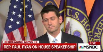 Paul Ryan Tells House GOP He'll Be Their Speaker If They Bow To His Will