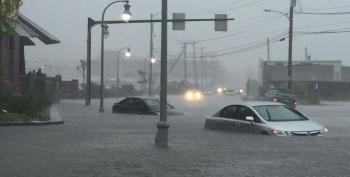 Floods Hit The US Eastern Seaboard
