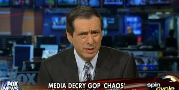 Howard Kurtz Whines That Liberal Commentators Are 'Over Hyping' GOP Chaos In The House