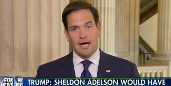Rubio Claims He Would Not Be Controlled By Billionaire Donor Sheldon Adelson