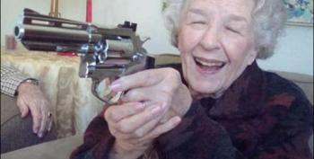 Fearful 78 Year Old Woman Second Amendments Herself