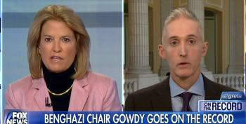 Trey Gowdy: Our Questions During Clinton Witch Hunt Were 'New' But Her Answers 'Were A Little Old'