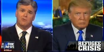 Sean Hannity Falls For Parody News About Syrian Refugees - And Donald Trump Repeats It