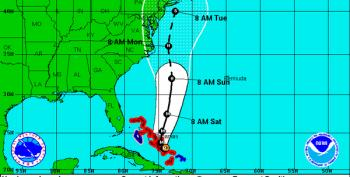Twitter Update: Where Will Joaquin Land?