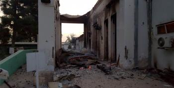 U.S. General: Hospital Strike Requested By Afghan Forces