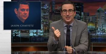 John Oliver Chastises Secret Service For Wasting Time Trying To Embarrass Jason Chaffetz