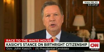 John Kasich Breaks Away From GOP Pack On Immigration